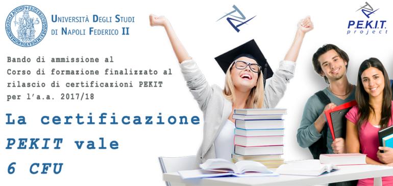 Bando di concorso PEKIT Università Federico II di Napoli