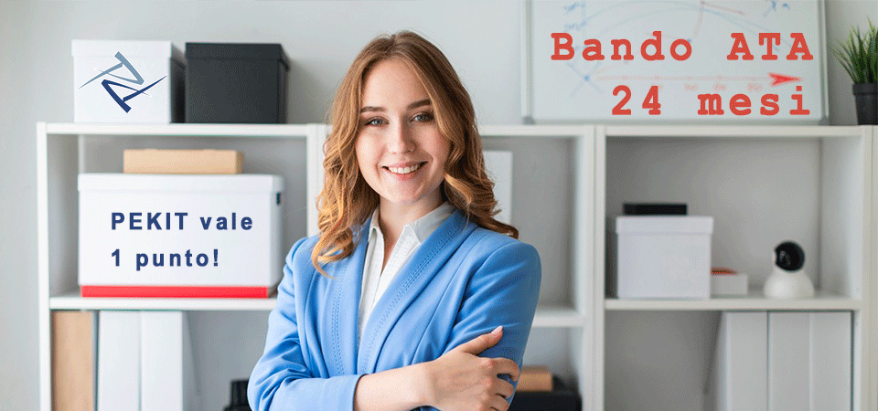 Bando ATA 2019: acquisisci 1 punto con PEKIT